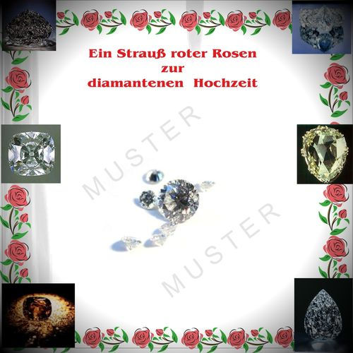 "TEXT ""Ein Strauss roter Rosen"" (download + ausdrucken)"